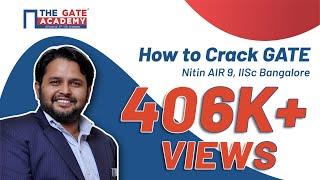 Webinar | How to Crack GATE | Nitin AIR 9, IISc Bangalore