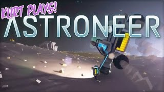 Kurt Plays ASTRONEER - 11 - Drill Causes Our First Game Crash