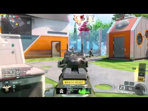 Black Ops 3 Kill Chain with 12 man feed