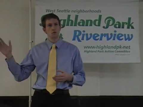 West Seattle's Highland Park Action Committee Welcomes Joe Fitzgibbon