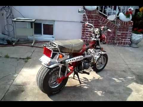 Honda Dax Trail 70 Rupp Clone Monkey bike Daytona 8'Wide ...