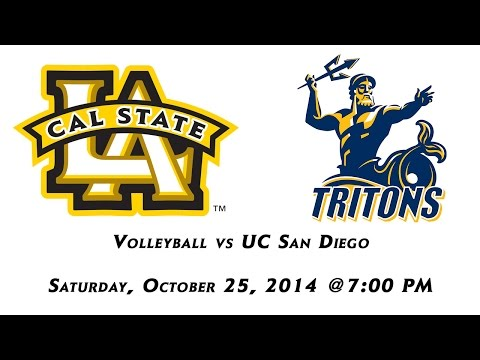 Cal State L.A. Volleyball vs UC San Diego