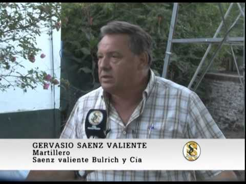 Nota Gervasio Saenz Valiente - Expotan 2015 - Saenz Valiente, Bullrich & Cía. - Tandil. 27-03-2015