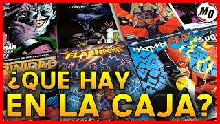 ¿QUE HAY EN LA CAJA? - Todo lo nuevo de DC COMICS! - DC Renacimiento - ECC ARGENTINA │ 14-08-2018