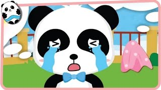 Baby Panda Share Feelings with Friends - Emotional Growth - Babybus Kids Games