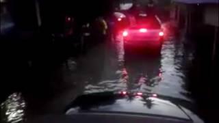 Fenomena air pasang besar di Kampung Sri Keramat, Klang