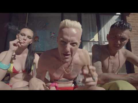 DIE ANTWOORD - BABY&#039;S ON FIRE (OFFICIAL)