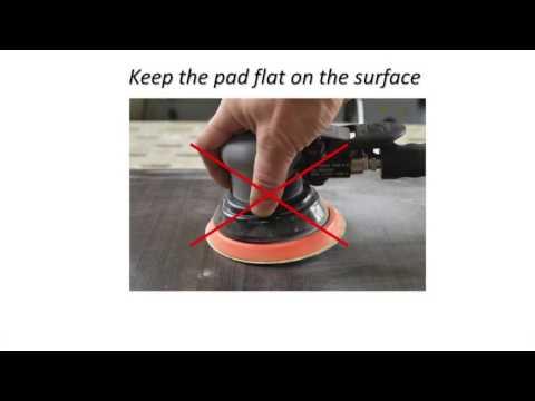 DA Sander Tips & Techniques