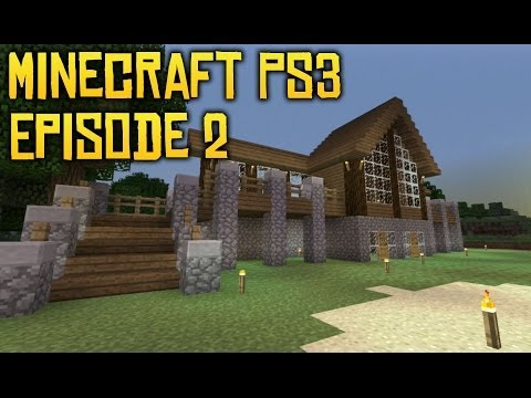 Minecraft PS3 Minecraft Cabin 2