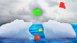 IMPOSSIBLE GOLF ON ICE! (Golf It)