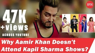 Do You know Why Aamir Khan Doesn't Attend Kapil Sharma Shows?