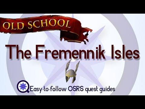 The Fremennik Isles - OSRS 2007 - Easy Old School Runescape Quest Guide