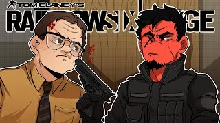 THE LEGENDARY DWIGHT SCHRUTE! | Rainbow Six: Siege (R6 Wind Bastion)