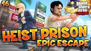 Fanta et Bob dans GTA V - Ep. 16 : HEIST PRISON : EPIC ESCAPE