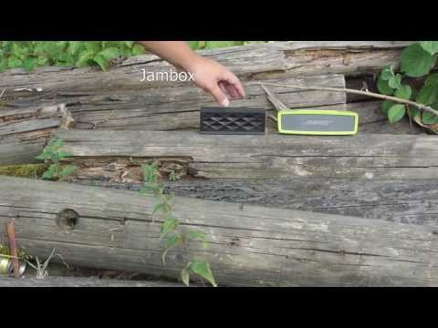 Jambox vs. Soundlink Mini outdoor test