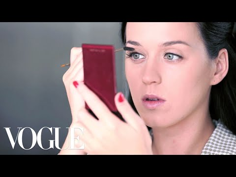 Katy Perry Beauty Routine July Vogue Cover - Katy Perry Vogue - Vogue Diaries video