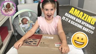 AMAZING REBORN BOX OPENING!! IS IT A SILICONE BABY??
