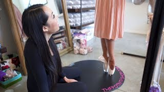 First Pair Of Pointe Shoes! What Happens At A Fitting I @MissAuti ft. ThePointeShop