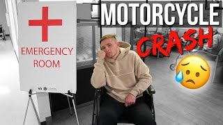 HE CRASHED HIS MOTORCYCLE!!! | Vlogmas Day 6