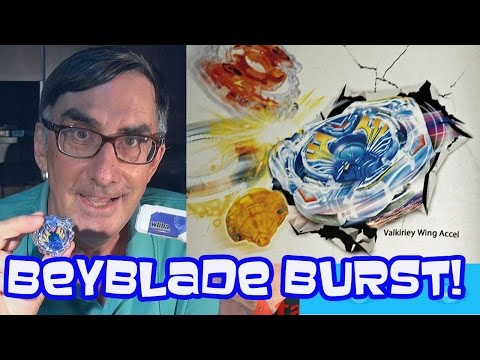 Beyblade Burst Valkyrie Wing Accel Toy Unboxing