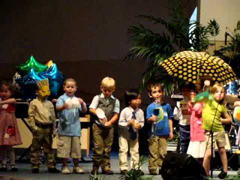 Florida Alphabet Song  The Little Blessings' 2011 Vpk Graduation video