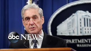 Robert Mueller makes public statement on special counsel report