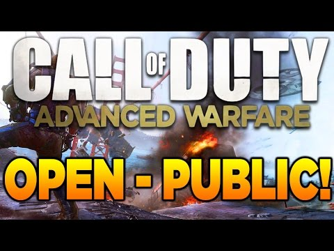 Call of Duty: Advanced Warfare OPEN TO THE PUBLIC! (COD AW Multiplayer Free To Play)
