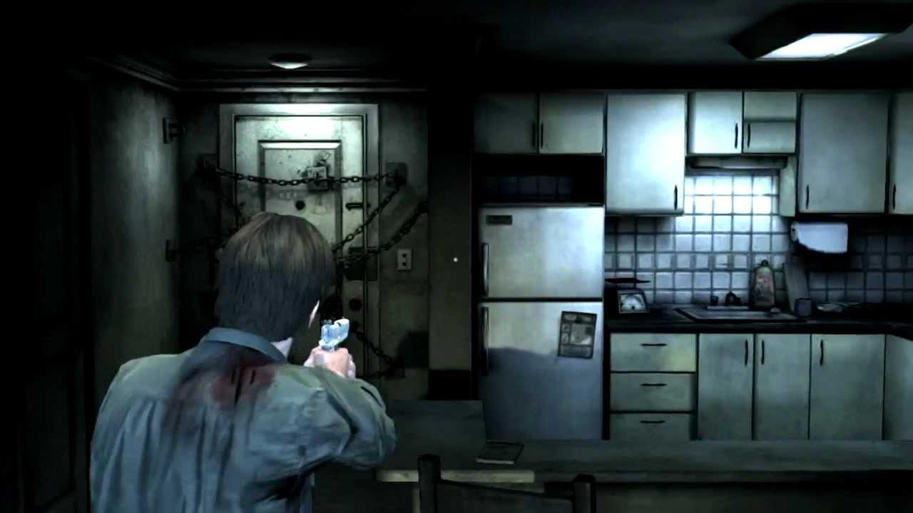 Silent Hill Downpour Room 302 Detailed Explore Ps3