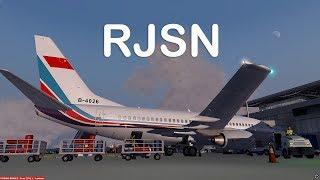 Prepar3D v4 - PMDG 737-700 ILS approch RJSN with Hall sensor throttle stick