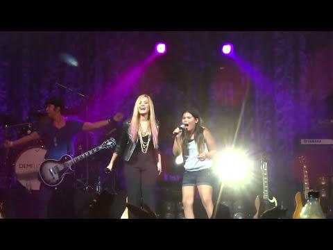 Demi Lovato & Madison De La Garza -- Together -- Las Vegas, NV -- 7/14/2012