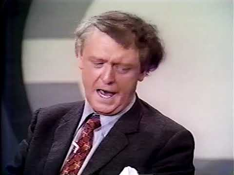 """Anthony Burgess And Malcolm McDowell Interview On """"A Clockwork Orange"""" (1972)"""