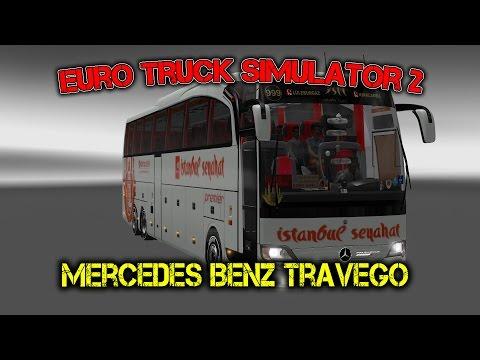 Euro Truck Simulator 2 обзор мода ( Mercedes Benz Travego )