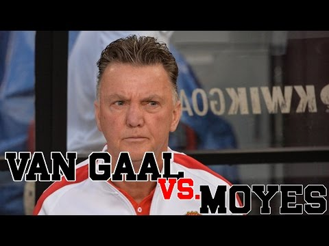 Van Gaal Confident As Manchester United Coach [Van Gaal vs. Moyes]