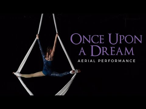 Once Upon a Dream - Aerial Silks Performance