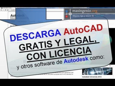 Descarga AutoCAD 2015 Gratis y otros software de Autodesk