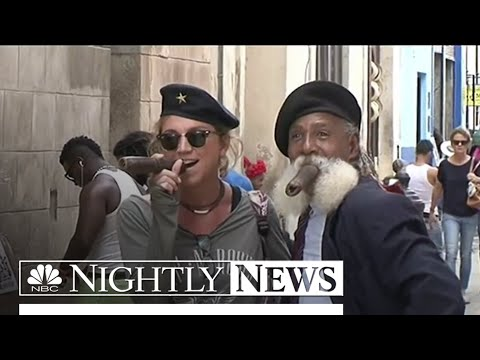 Cuba Trade and Travel Rules Relax To Americans   NBC Nightly News