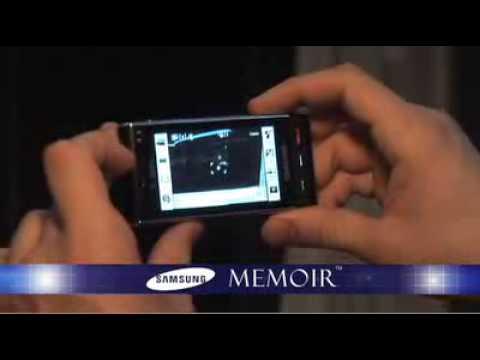 Samsung Memoir - Mobile World Congress 2009