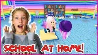 Building a School inside my House!