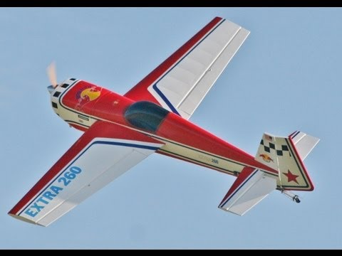 SEAGULL MODELS EXTRA 260 WITH SMOKE PUMP - AEROBATICS - DEAN (PART 1)  AT HDMFC