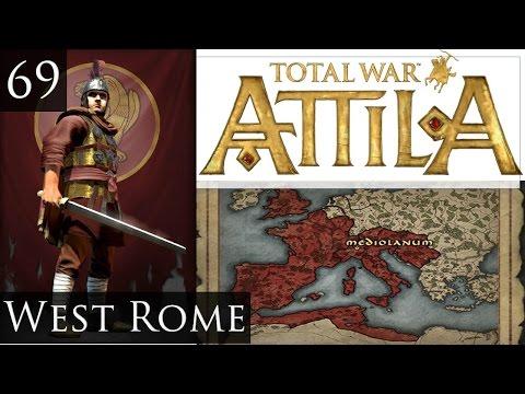 Total War Attila Legendary West Rome Campaign Part 69