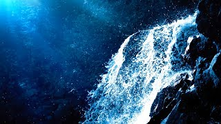 Relaxing Waterfall Sounds for Sleep   Fall Asleep & Stay Sleeping with Water White Noise   10 Hours