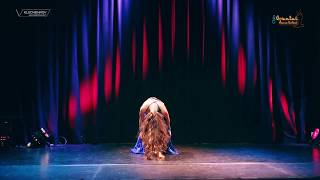 Tevec Dancing To Asena Sendur Professional Turkish Belly Dance Oslo 2017