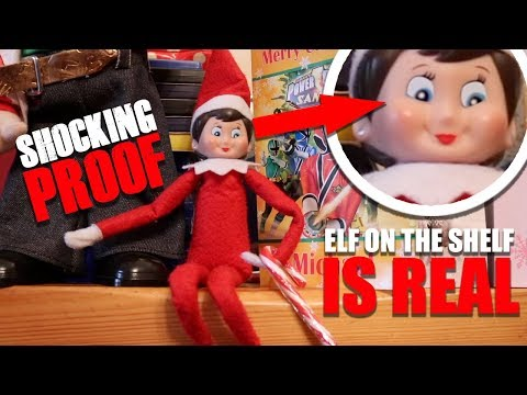 ELF ON THE SHELF IS REAL 🎄 WATCH CLOSELY 🎄 REAL PROOF Caught on camera