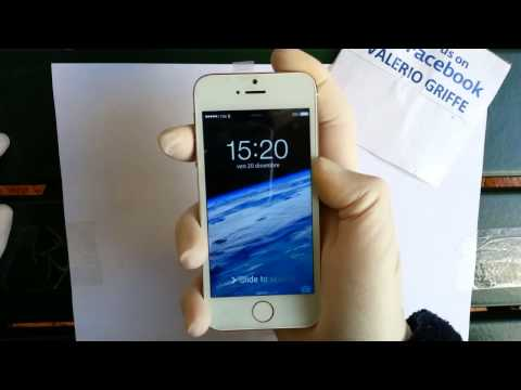 Goophone I5S Clone Iphone 5s GOLD Unboxing e Mini Review Italia