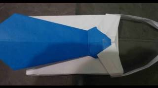 How To Make Business Shirt Gift Basket Origami Father's Day Cesta Del Regalo Corbata