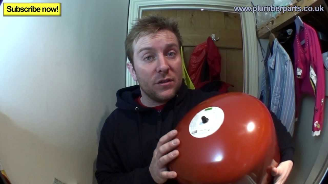 Expansion Vessel Install Plumbing Tips Youtube