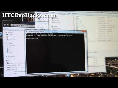 How To Flash Boot Img For HTC EVO 3D Using Fastboot(boot Errors Fix)