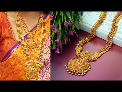 Latest New Designs GRT Gold Long Haram designs - She Fashion