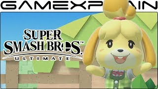 Isabelle Character Trailer - Super Smash Bros. Ultimate (+ Her Final Smash!)