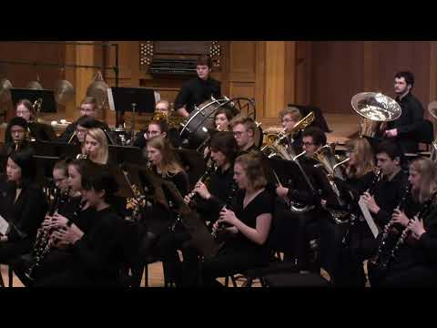 Lawrence University Symphonic Band - March 2, 2019